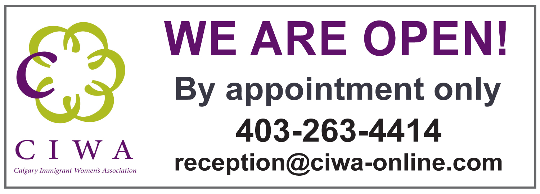 CIWA is open