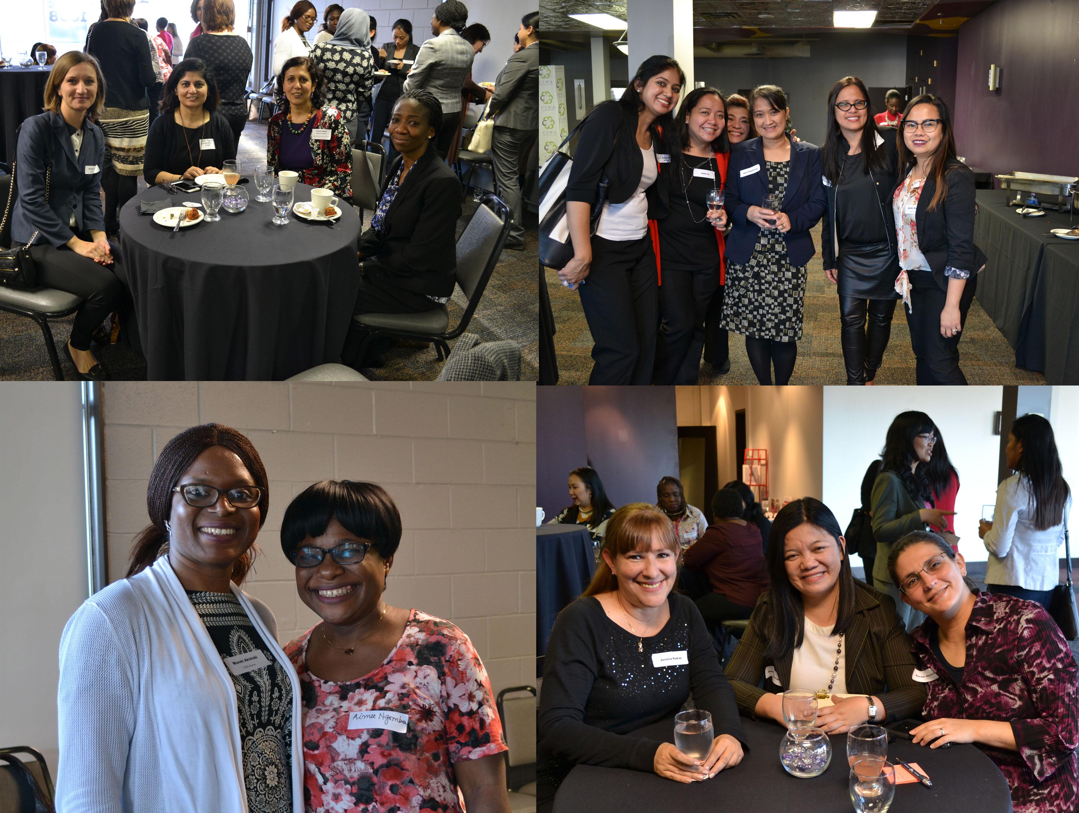 alumni networking event