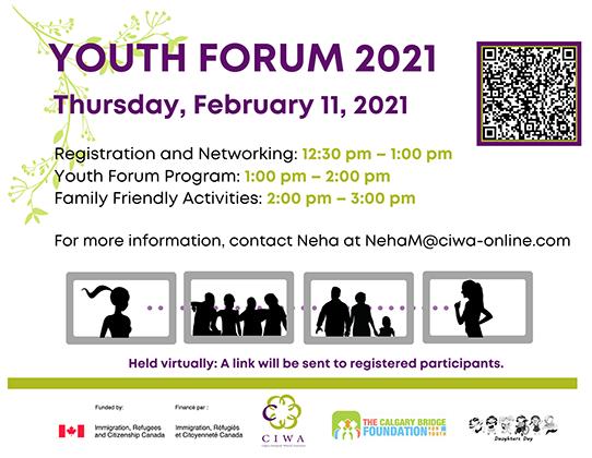 Youth Forum Handbill 2021